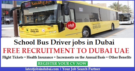 School Bus Driver jobs in Dubai UAE