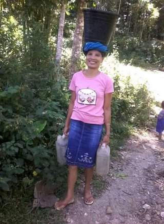 Yana is walking