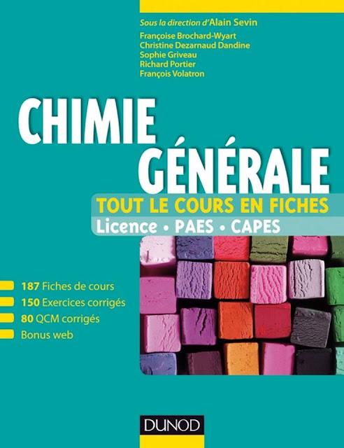Télécharger : Chimie générale _ tout le cours en fiches