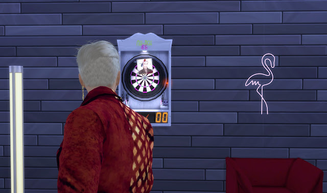 Sims 4 Functional Trickster Dartboard Download