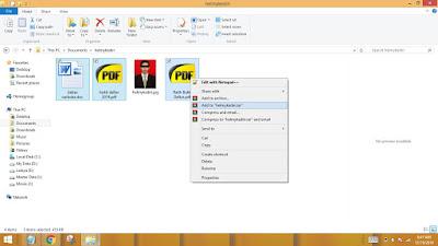 Cara menyembunyikan file didalam gambar2
