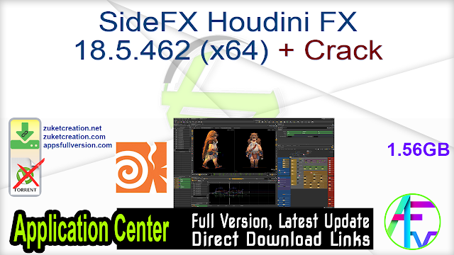 SideFX Houdini FX 18.5.462 (x64) + Crack
