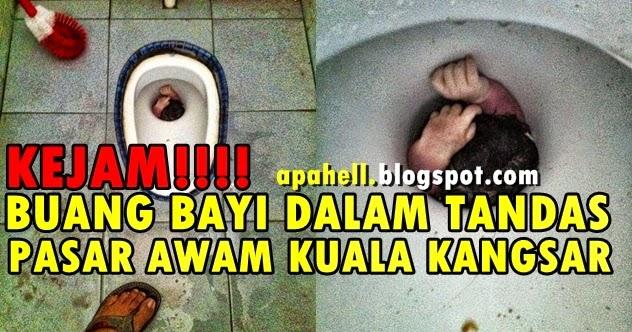 Kejam Buang Bayi Dalam Lubang Tandas di Kuala Kangsar 3
