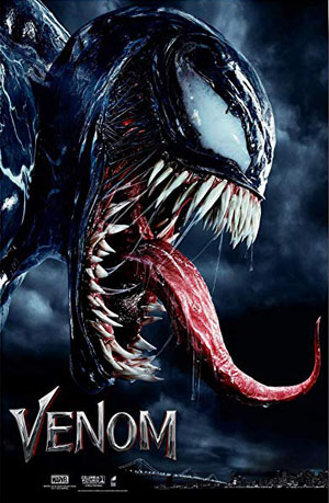 Venom 2018 Dual Audio ORG Hindi BluRay 720p 1GB DD5.1Ch poster