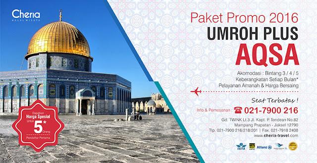 Promo Paket Umroh Plus Aqso 2016