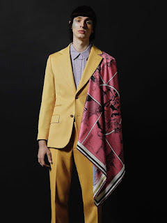 INYIM Media Fashion 1970s Inspired Motif: Featuring Paweł Dobberstein Sports Pastel Fashions For GQ Portugal!