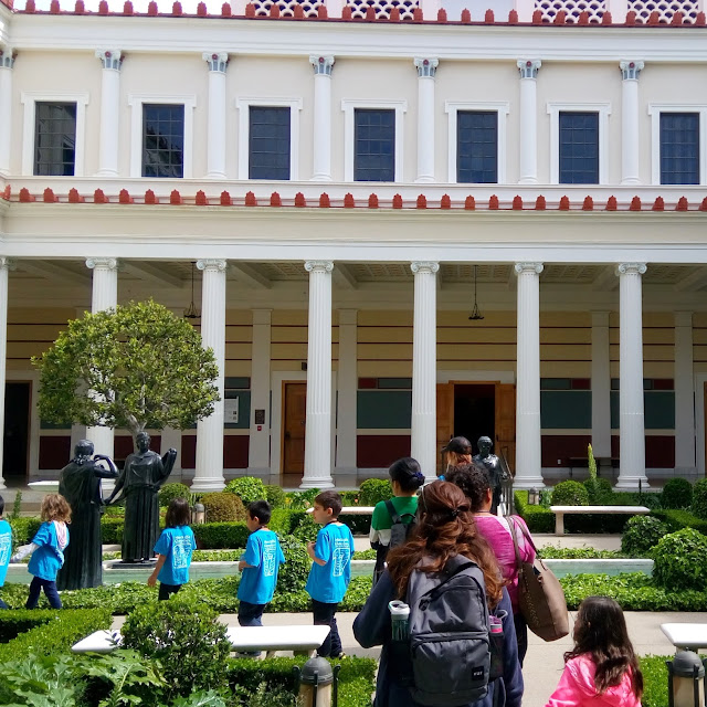 Getty Villa in Malibu