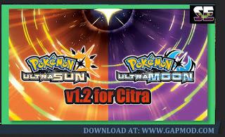 Pokemon Ultra Sun Update 1.2 ROM for Citra 3DS Emulator
