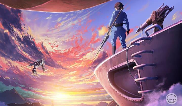 Drifting Dragons มังกรโอชะ - ขึ้นเรือเหาะทะยานไปบนท้องฟ้าเพื่อภารกิจตามล่าเนื้อมังกร