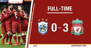 Liverpool Hajar Huddersfield 3-0 (Highlights)
