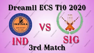 Who will win IND vs SIG 3rd T10 Match