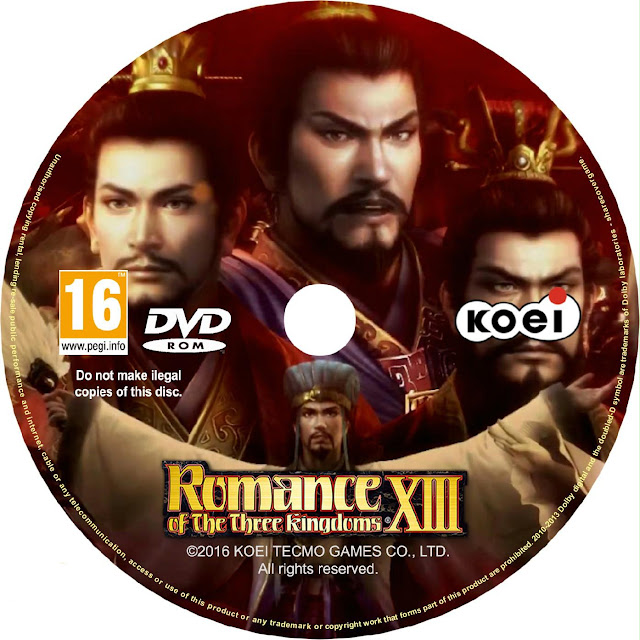 Label Romance Of The Three Kingdoms PC
