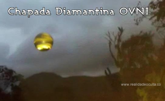OVNI na chapada Diamantina
