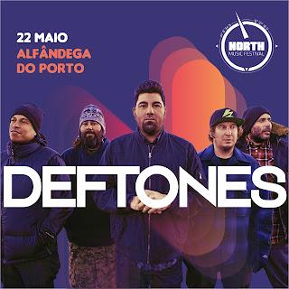 Deftones e The Script São os Cabeças de Cartaz do North Music Festival!