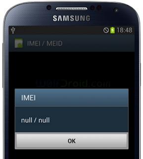 Cara Atasi IMEI Null Pada Android