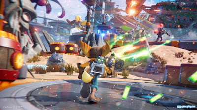 Ratchet & Clank Rift Apart Review - Graphic