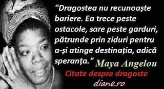 Citate despre dragoste de Maya Angelou