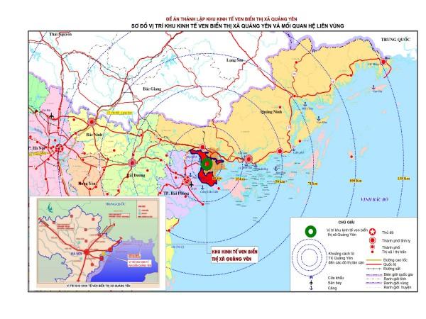 Khu kinh tế Quảng Yên - Hạt nhân mới của tuyến phía Tây Quảng Ninh