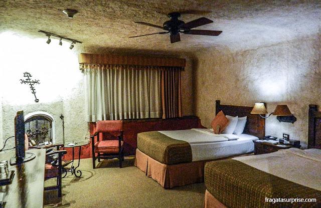 Apartamento do Hotel Museu Casa Santo Domingo, em Antigua, Guatemala