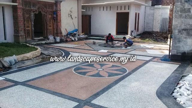 Tukang Batu Sikat Surabaya | Jasa Pasang Carport Koral Sikat Surabaya