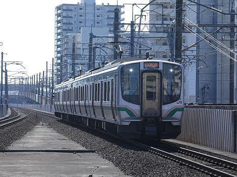 【ダイヤ改正で廃止!】E721系の東北本線 快速ラビット 仙台行き