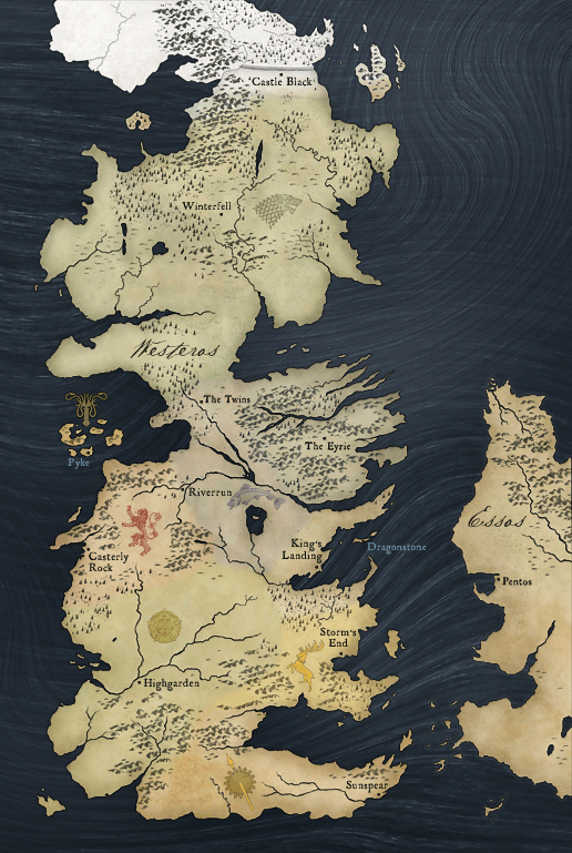 picture relating to Free Printable Map of Westeros named The Wertzone: Mapping the Totally free Metropolitan areas inside of A Music OF ICE AND
