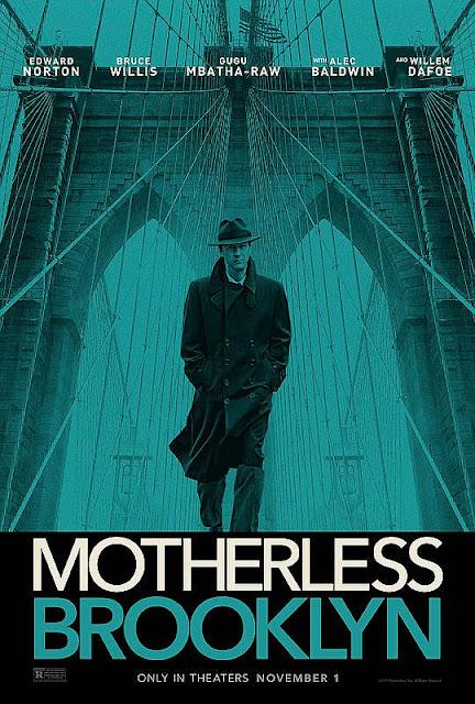 Sinopsis Film Motherless Brooklyn (2019) - Bruce Willis, Edward Norton