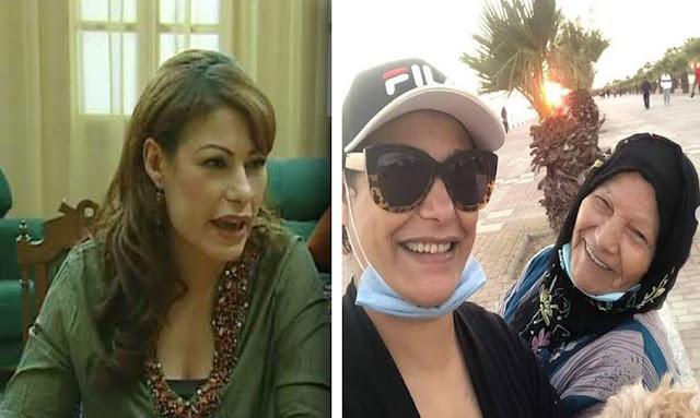 وفاة والدة الممثلة جميلة الشيحي بعد صراع مع فيروس كورونا