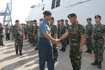122 Personel TNI Terlibat Latihan Maritime Security Exercise