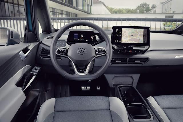 Volkswagen ID3 - interior - painel