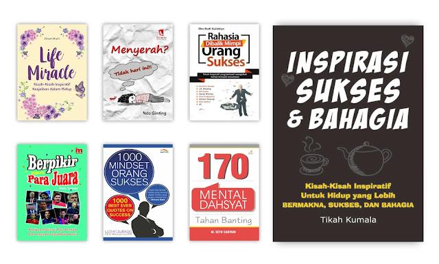 Buku Motivasi dan Pengembangan Diri Untuk Koleksi Perpustakaan Desa