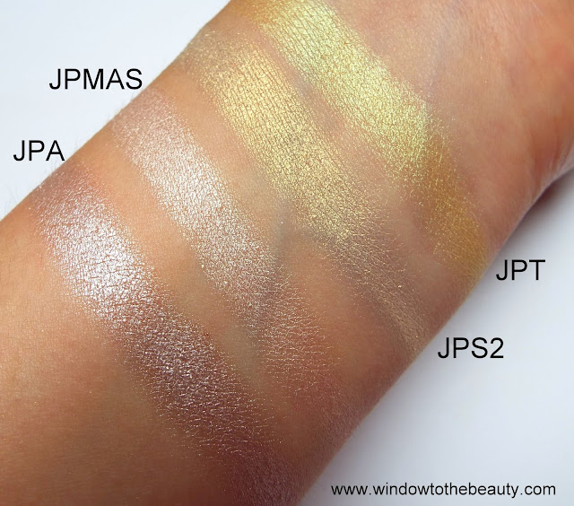 Juvia's Place  swatches