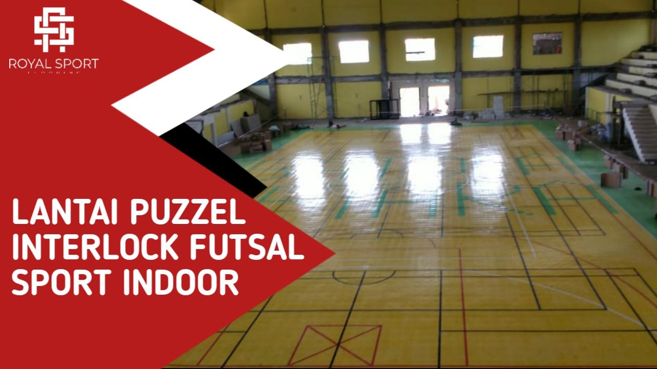 Lantai Interlock Futsal
