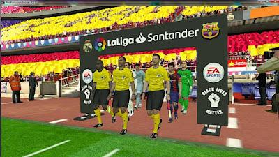 Gate Entrance Laliga Santander PES 2017