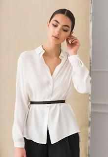 Дамска копринена Риза - Feminimal