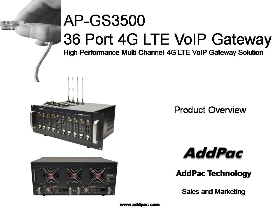 AddPac Technology's Official Blog : AP-GS3500 Power