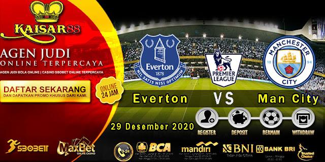 Prediksi Bola Terpercaya Liga Inggris Everton vs Man City 29 Desember 2020