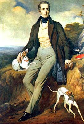 كتب لامارتين نصًا مشهورًا عن النبي محمد عام 1854