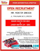 Open Recruitment at MR. Monitor Gresik Terbaru Nopember 2019