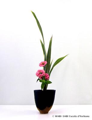 Ikebana-shoka-shofutai-wabisabi-escoladikebana