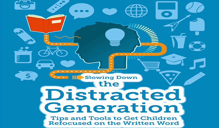 Slowing Down the Distracted Generation #infographic