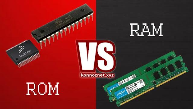 ما الفرق بين ROM و RAM