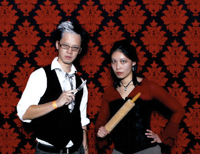 couple costume sweeney todd mrs. lovett