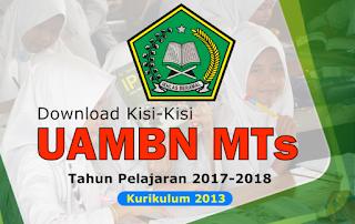 kisi-kisi uambn mts 2017-2018