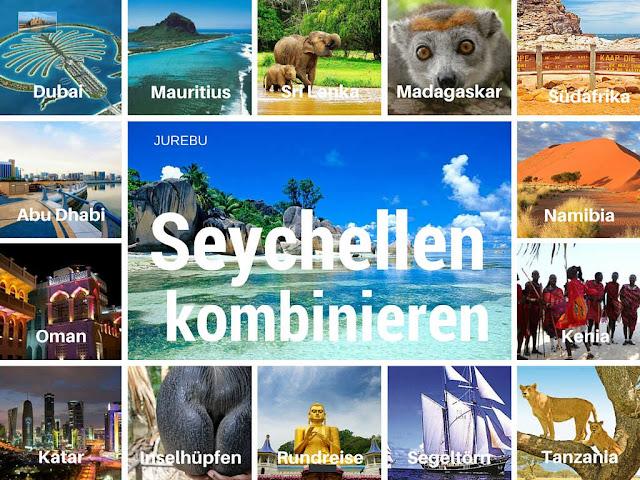 Seychellen kombinieren