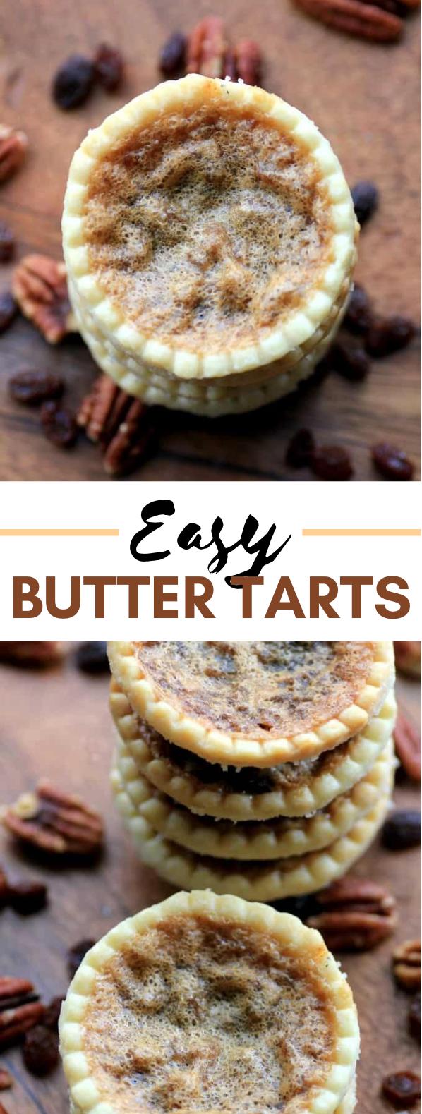 EASY BUTTER TARTS #desserts #cake #tarts #sweets #foodrecipe