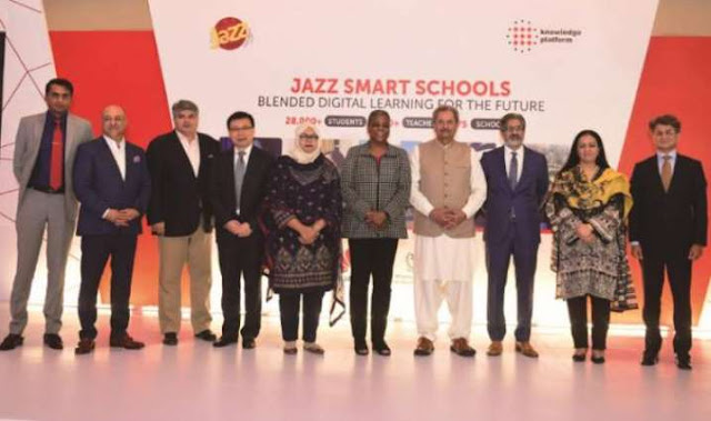 Jazz Celebrates The Success Of Its Smart Schools Programme