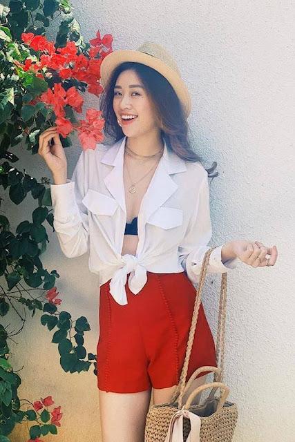 Nhan sắc đời thường của tân hoa hậu Khánh Vân