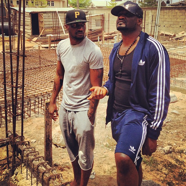 psquare new mansion in ikoyi lagos