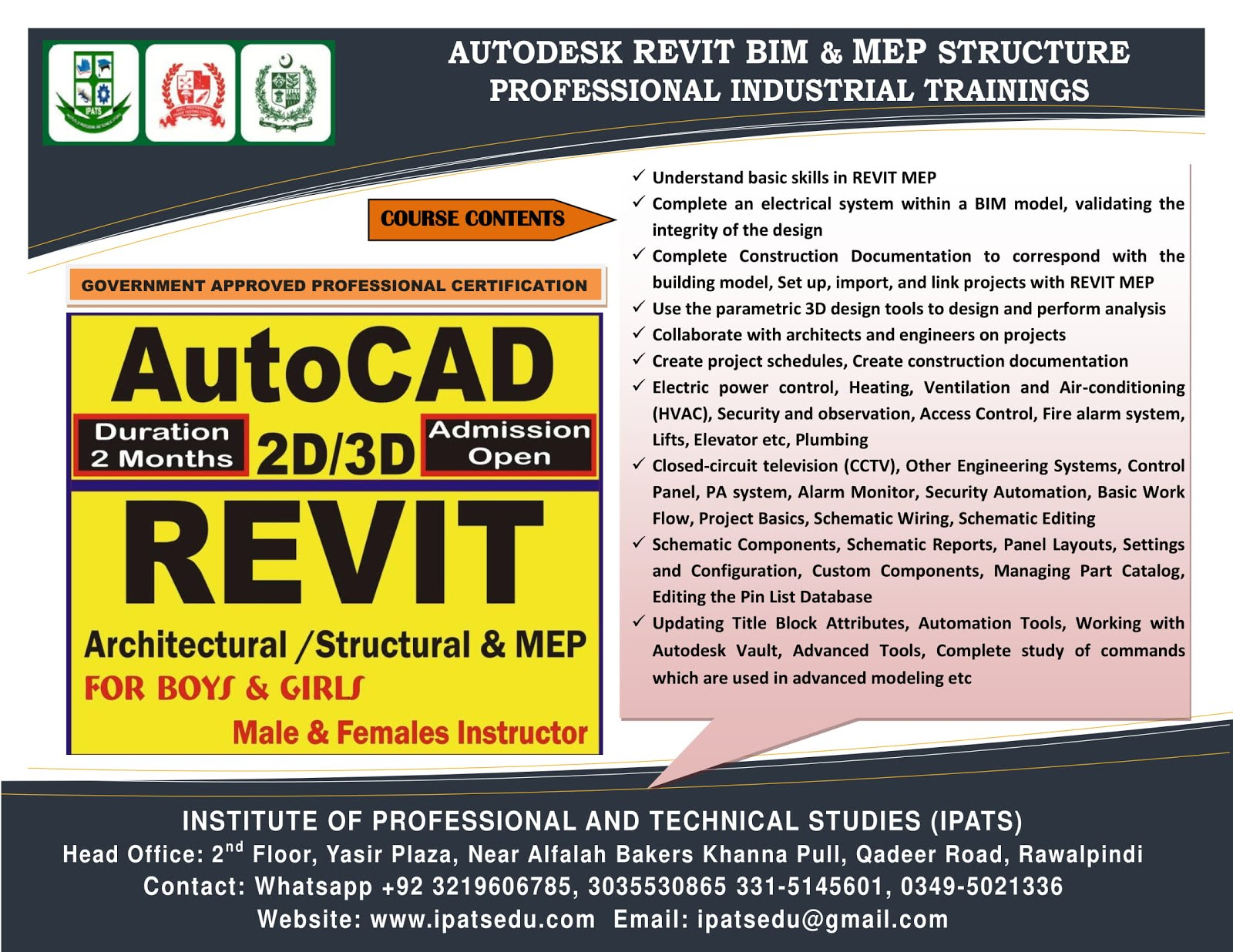 Revit MEP Electrical Civil Surveyor Civil, Road & Land Surveyor  Quality Control (QC) Quantity surv